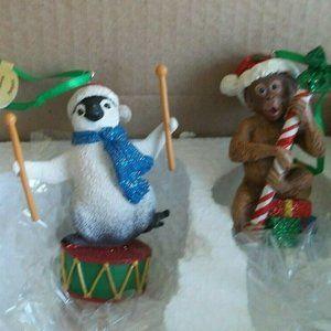 Danbury Mint Christmas Ornaments Baby Animals